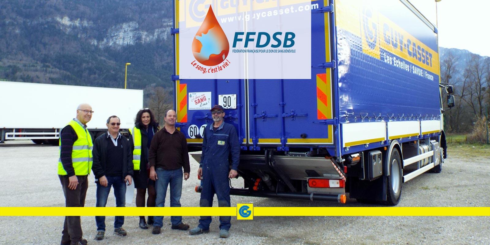 Partenariat avec l'Amicale des donneurs de sang bénévoles