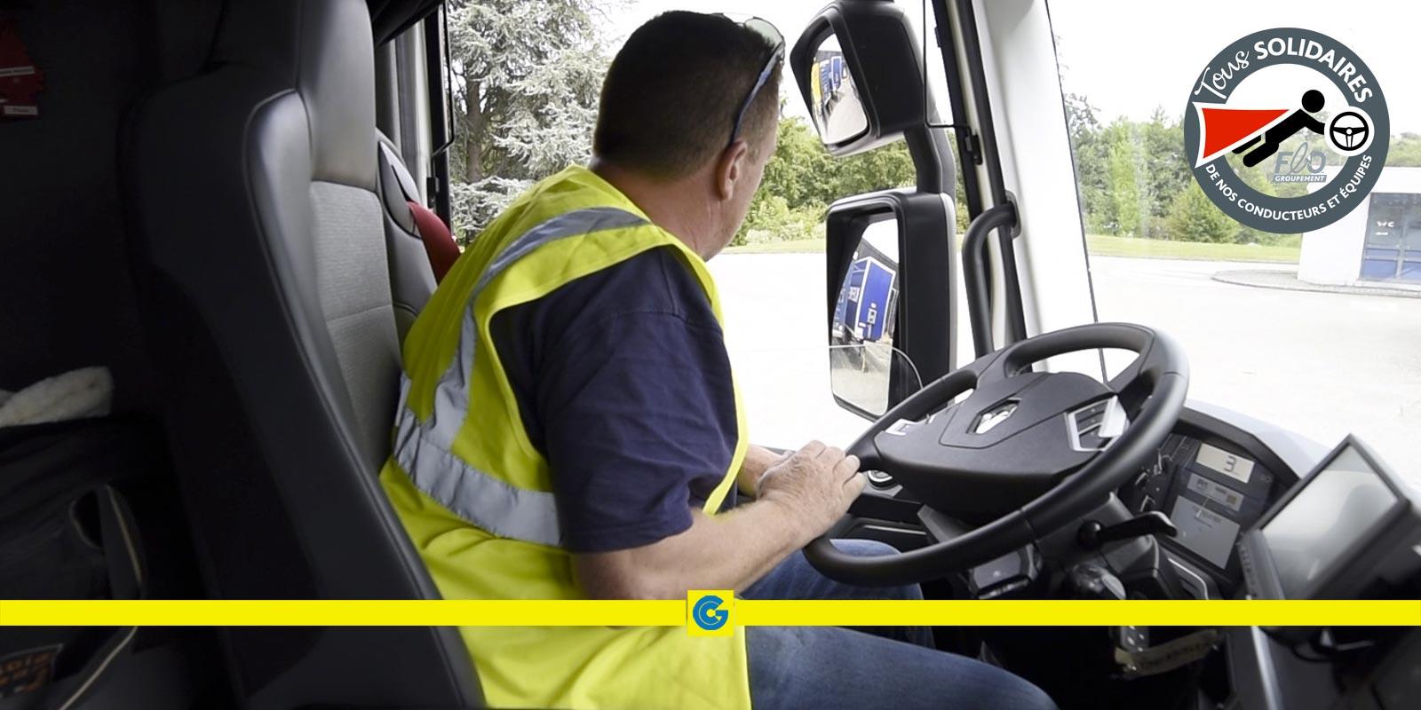 Covid-19: maintien du transport routier et de la logistique