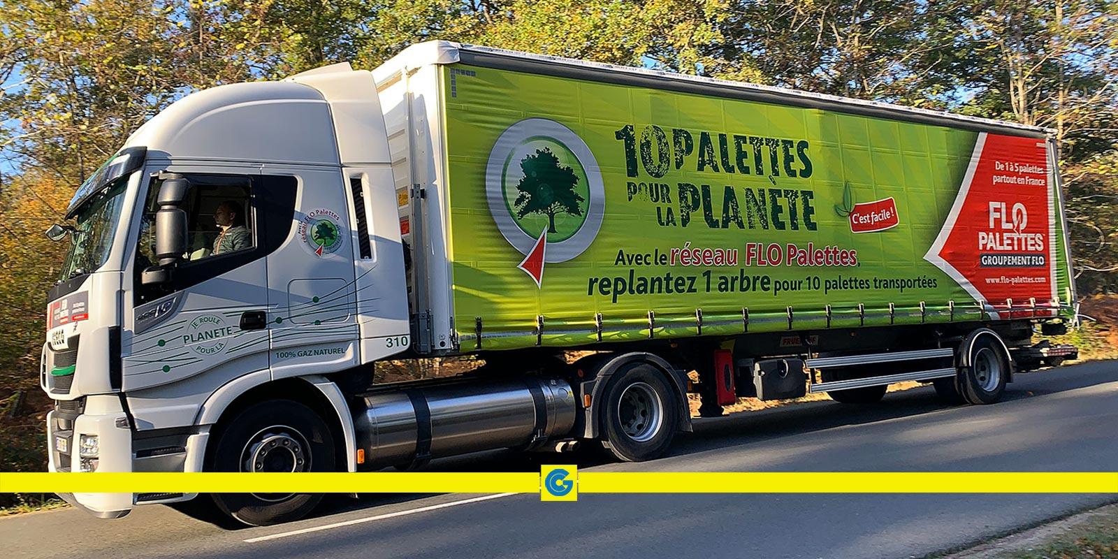«10 palettes pour la planète»: l'opération continue!