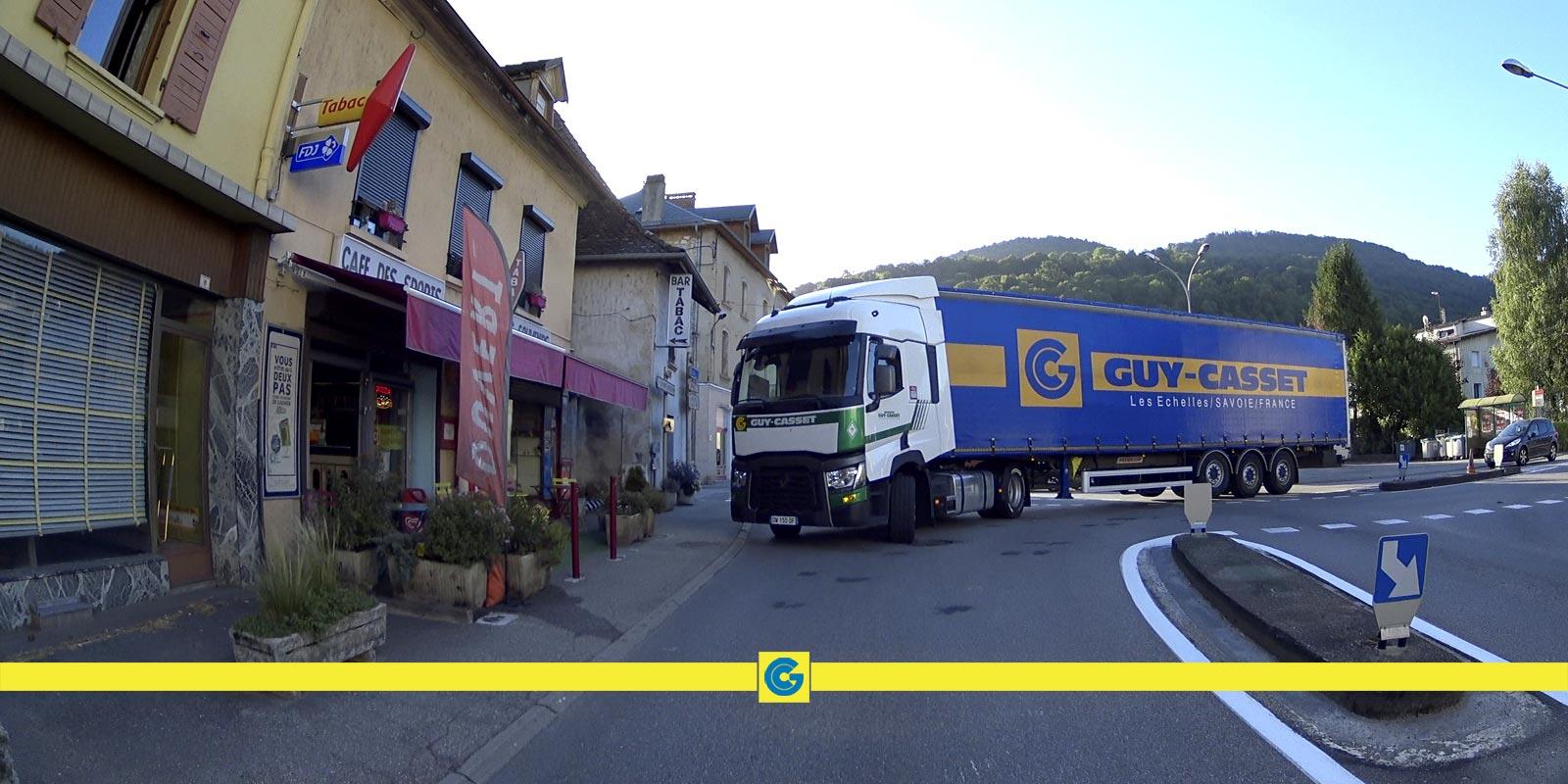Distribution régionale de lots de marchandises en Rhône-Alpes
