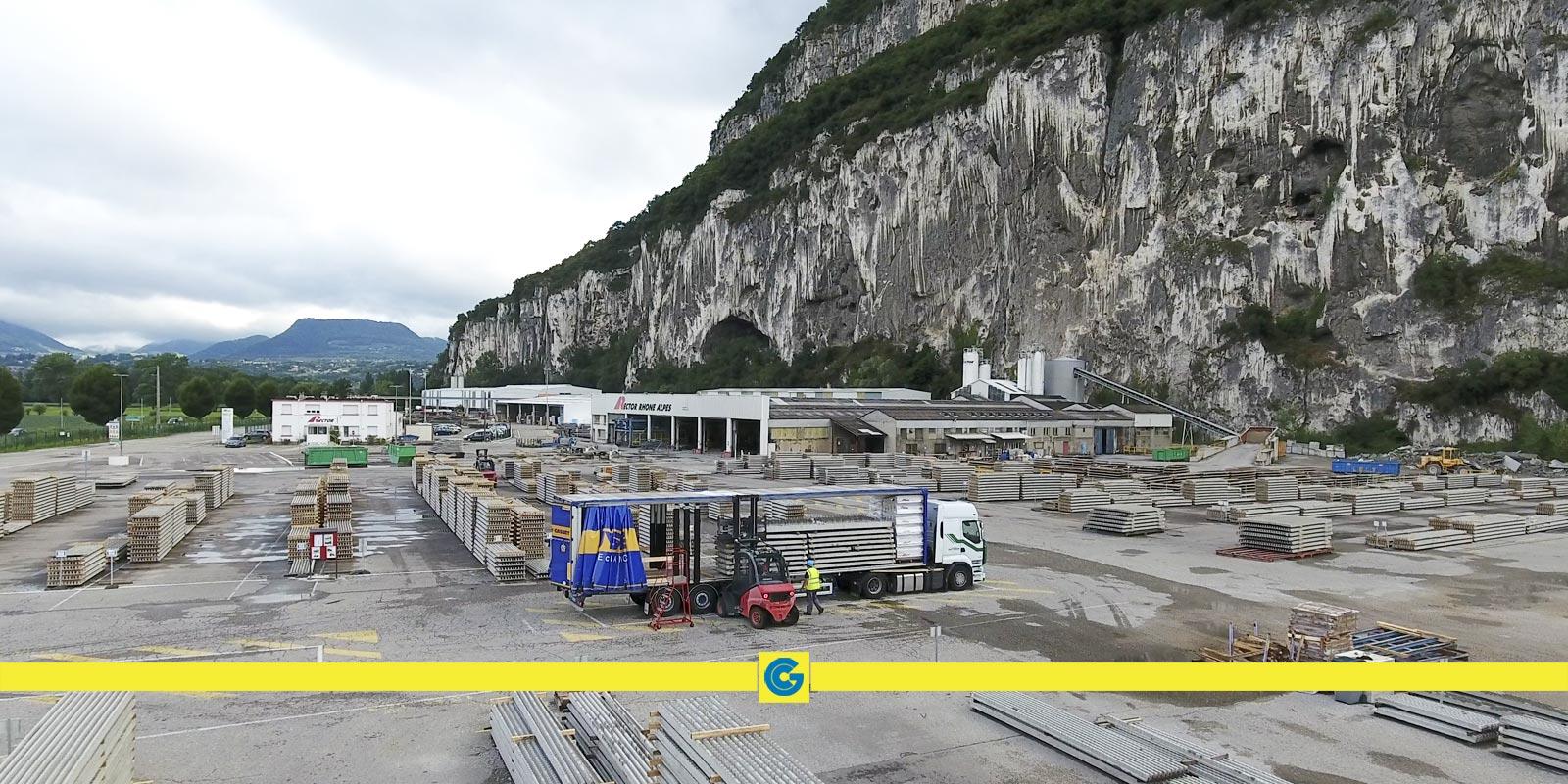 Transport hors-gabarit en Rhône-Alpes