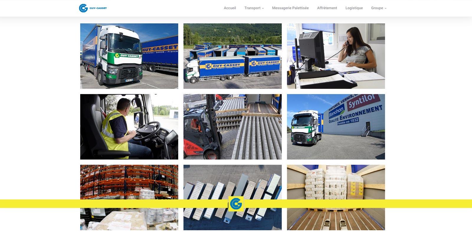 Le nouveau site internet du Groupe Guy Casset